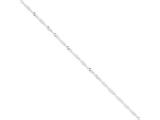 16 Inch Sterling Silver 2mm Singapore Chain style: QFC99