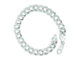 Sterling Silver 7inch Polished Charm Bracelet style: QG1163