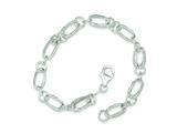Sterling Silver Fancy Bracelet style: QG150