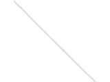 Sterling Silver 1.5mm Rolo Chain Anklet style: QG2130