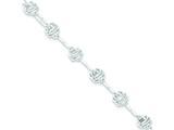 Sterling Silver Bracelet style: QG2195