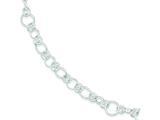 Sterling Silver Bracelet style: QG2216