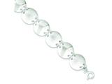 Sterling Silver Fancy Bracelet style: QG3333