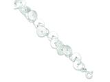 Sterling Silver Fancy Bracelet style: QG3334