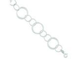 Sterling Silver Bracelet style: QG3336