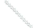 Sterling Silver Stars Bracelet style: QG506
