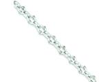 Sterling Silver Toggle Bracelet style: QG655