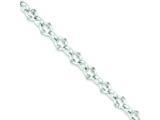 Sterling Silver Toggle Bracelet style: QG655