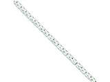 Sterling Silver Fancy Byzantine Bracelet style: QH110