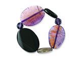 Crack Agate Crystal Sardonyx Stretch Bracelet style: QH4722