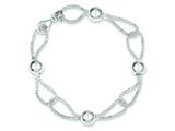 Sterling Silver Fancy Bracelet style: QH4962