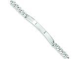 Sterling Silver Id Bracelet style: QID193