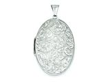 Sterling Silver Oval Locket style: QLS1