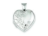 Sterling Silver Heart Locket style: QLS47