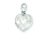 Sterling Silver 15mm Heart Locket style: QLS501