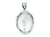 Sterling Silver Med Oval Locket style: QLS50