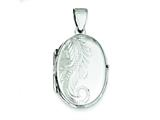 Sterling Silver Locket style: QLS51