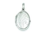Sterling Silver Locket style: QLS63