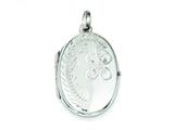 Sterling Silver Locket style: QLS65