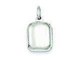 Sterling Silver 14mm Locket style: QLS86