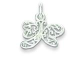 Sterling Silver Dragonfly Charm style: QP1164