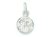Sterling Silver Stellux Crystal Pendant - Chain Included style: QP1395