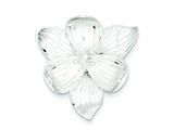 Sterling Silver Flower Pendant - Chain Included style: QP701
