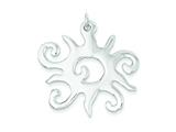 Sterling Silver Fancy Pendant - Chain Included style: QP724