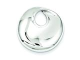Sterling Silver Circle Slide style: QP913