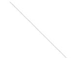 Sterling Silver .6mm 8 Sided Diamond-cut Mirror Box Chain style: QPE35
