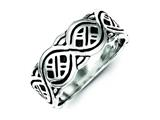 Sterling Silver Fancy Ring style: QR319