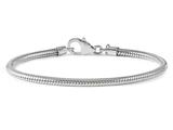 Reflections Sterling Silver Lobster Clasp Pandora Compatible Bead Bracelet 6.75 inches style: QRS984-6.75