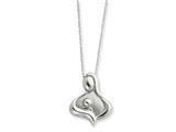 Sentimental Expressions(tm) Sterling Silver Polished Maternal Bond 18 Inch Necklace