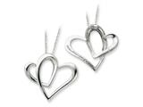 Sentimental Expressions(tm) Sterling Silver Mother A Part of My Heart 18 Inch Necklace style: QSX246