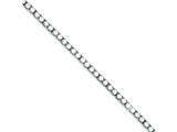 Sterling Silver Cubic Zirconia Bracelet style: QX108CZ