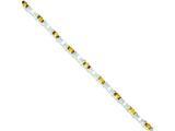 Sterling Silver Citrine Bracelet style: QX201CI