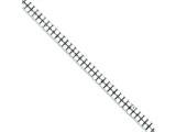 Sterling Silver Cubic Zirconia Bracelet style: QX348CZ
