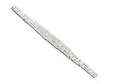 Sterling Silver Cubic Zirconia Bracelet style: QX370CZ