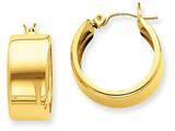 14k Hoop Earrings style: S1161