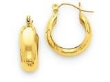 14k Hoop Earrings style: S1165