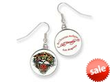 Ed Hardy Roaring Tiger Painted Earrings style: EHF107
