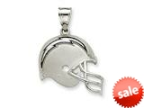 Sterling Silver San Diego Chargers Enameled Helmet Charm style: NF2401SS