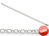 Amore LaVita™ Sterling Silver Bracelet 7.5 inches style: QG223675
