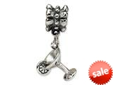 Reflections™ Sterling Silver Martini Dangle Pandora Compatible Bead / Charm style: QRS1047