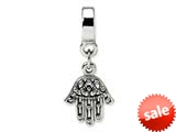Reflections™ Sterling Silver Chamseh Dangle Bead / Charm style: QRS1049