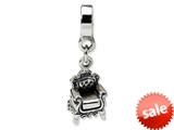 Reflections™ Sterling Silver Fancy Chair Dangle Bead / Charm style: QRS1073