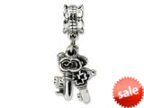Reflections™ Sterling Silver Keys Dangle Bead / Charm style: QRS1096