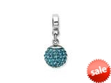 Reflections™ Sterling Silver December Swavorski Crystal Ball Dangle Bead / Charm