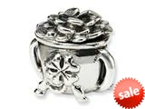 Reflections™ Sterling Silver Pot-of-Gold Bead / Charm