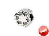 Reflections™ Sterling Silver Recycle Symbol Bead / Charm style: QRS1266